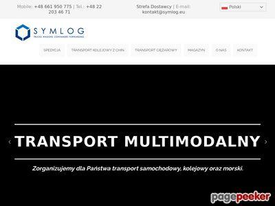 Usługi spedycyjne - Symlog