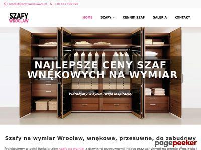 Garderoby na wymiar - szafywroclaw24.pl