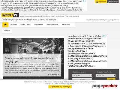 Szroty.pl - katalog autozłomów