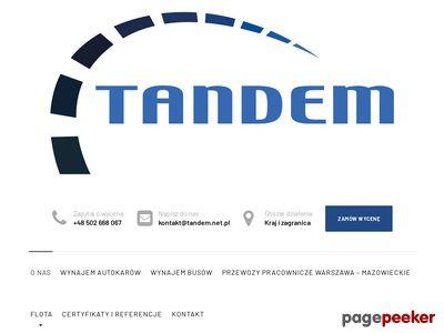 Prywatna Komunikacja Autobusowa Tandem Andrzej Ścieżka