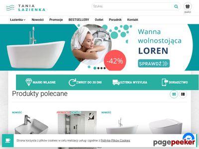 Tanialazienka.com - umywalki