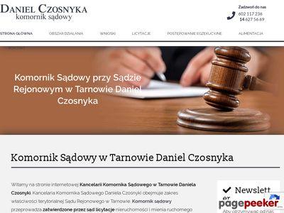 Komornik Sądowy Marian Piasecki - kancelaria komornicza w Tarnowie