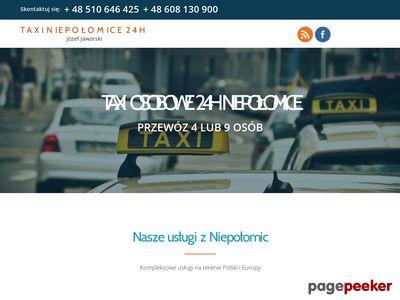 Transfery na lotnisko niepolomice - taxiniepolomice.com