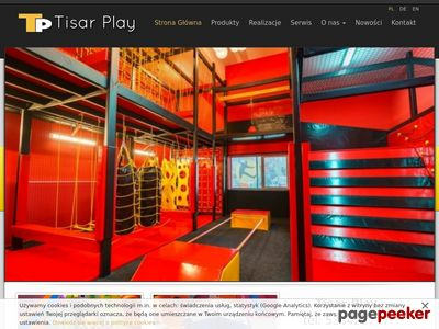 parki trampolin budowa