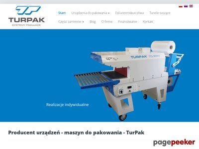 Maszyny pakujące - Turpak.pl