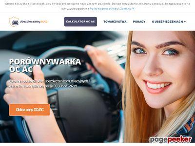 Porównywarka ubezpieczeń - ubezpieczamy-auto.pl