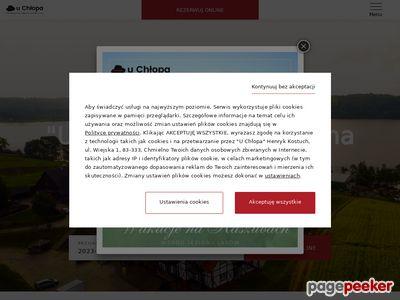 Miniaturka Sala weselna Chmielno - spa i noclegi nad jeziorem Kłodno