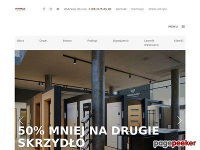 WAWRUK Białystok - drzwi, okna, bramy, podłogi, ogrodzenia