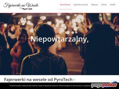 Pokazy fajerwerków na wesele - weselefajerwerki.pl