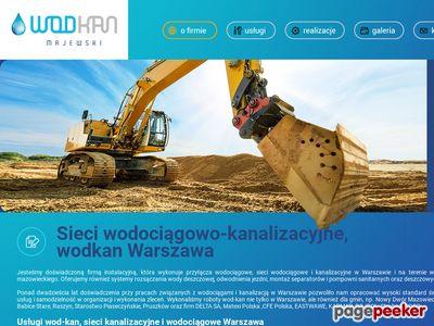 Przyłącza wodociągowe Warszawa