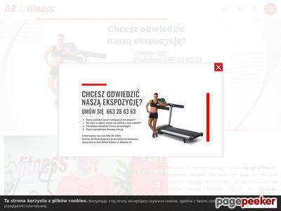 AB Fitness - orbitrek magnetyczny