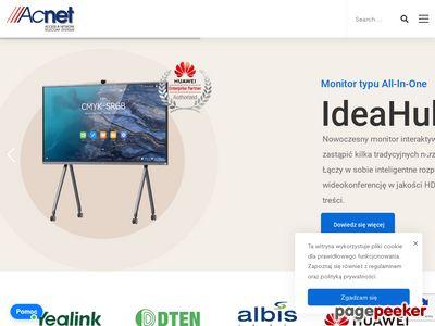 Acnet - prowadzenie nadzoru robót telekomunikacyjnych