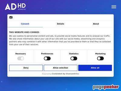 Miniaturka ADHD Interactive - Zaprojektujemy Twoją stronę internetową!
