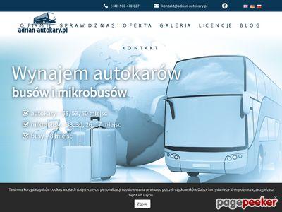 Przewozy autokarowe Gdańsk