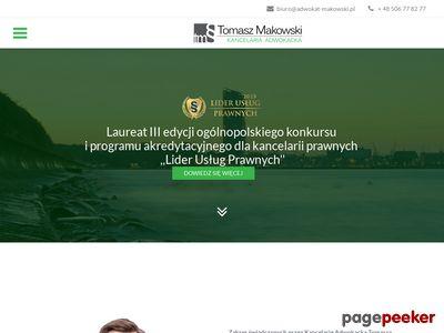 Tomasz Makowski, Kancelaria Adwokacka