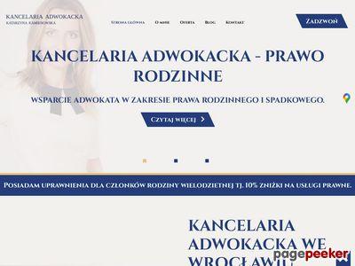 Katarzyna Kamieniowska - radca prawny Wrocław