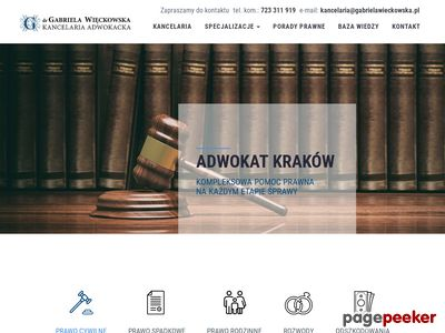 Kancelaria Adwokacka Kraków - adwokatwieckowska.pl