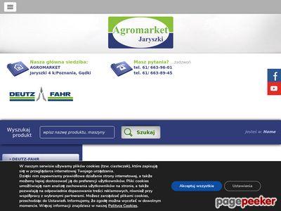 Agromarket Jaryszki - maszyny rolnicze Żnin