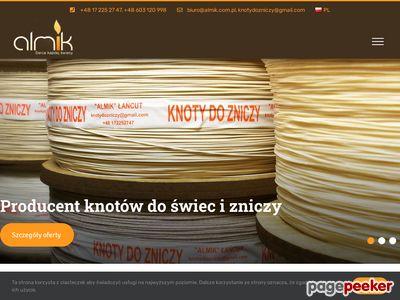 Almik - producent knotów Rzeszów