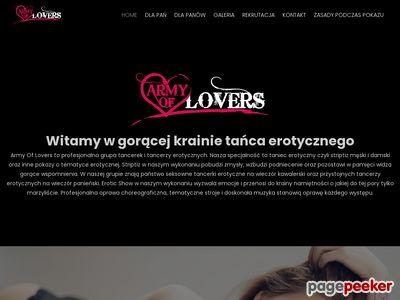 Armyoflovers.pl - tancerka na wieczór kawalerski