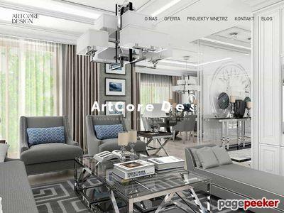 ArtCore Design Projektowanie Wnętrz