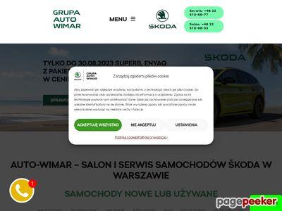 Autoryzowany Dealer w Warszawie - Auto-Wimar.pl