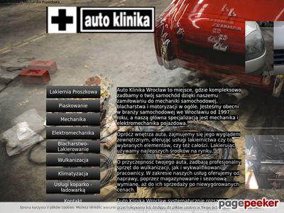 Auto Klinika Krzysztof Lurka - obróbka metali we Wrocławiu