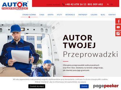 Autor - przeprowadzki w Bydgoszczy