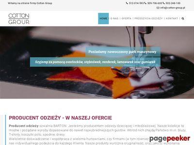 Koszulki polo łódź - www.barton.net.pl/bluzy-koszulki-polo-tshirty-lodz.html