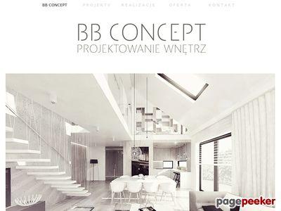 Projektowanie wnętrz BB Concept