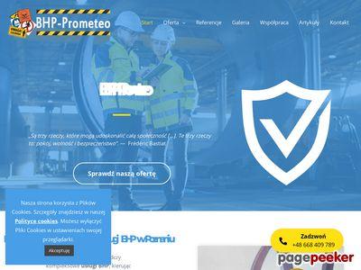 BHP Prometeo - Szkolenia BHP Dla Firm