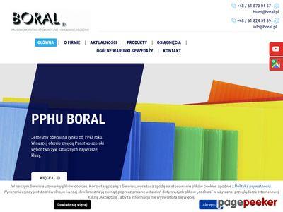 Boral P.P.H.U Aleksander Borowicz - tworzywa konstrukcyjne