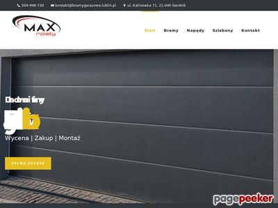 Bramy garażowe Lublin cennik - bramygarazowe.lublin.pl