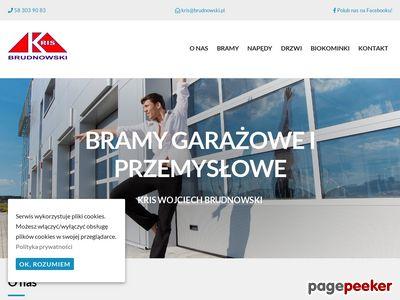 Kris W. Brudnowski - bramy compact Gdańsk