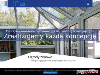BTM-EUROLINX - producent zimowych ogrodów Łomża