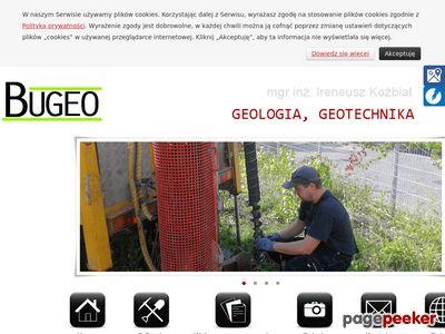 Bugeo - badania geologiczne Warszawa