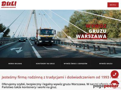 Wywóz gruzu www.buli.com.pl