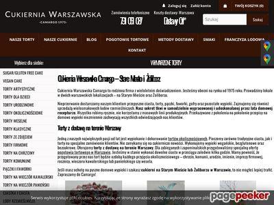 Www.camargo.com.pl - Torty Weselne