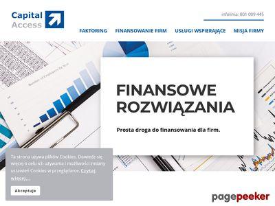 Capital Access - finansowanie firm