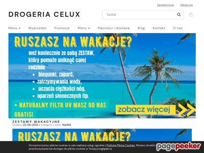 CELUX akcesoria kosmetyczne