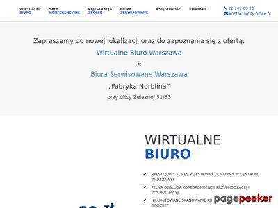 Wirtualne Biuro Warszaw - City Office