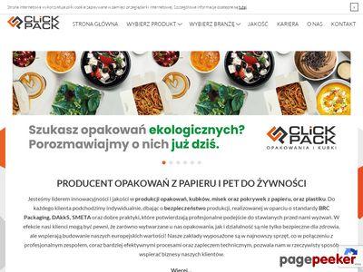 Click-pack.pl - opakowania jednorazowe