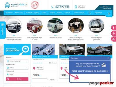 Czymdoslubu.pl - auto na ślub