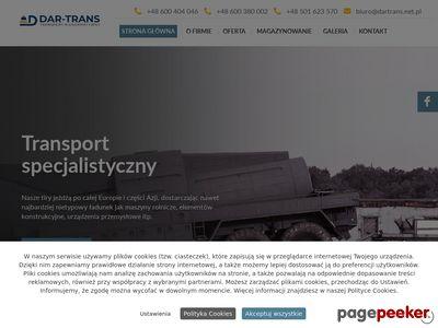 Dar-Trans - transport konstrukcji stalowych mazowieckie