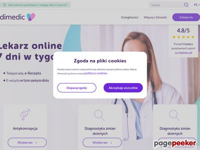 Leki na receptę - dimedic.eu