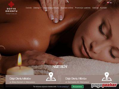 Salon masażu Warszawa