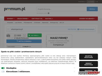 Domeny internetowe na sprzedaż - eKampania.pl