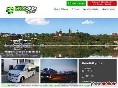 Ekobus - wynajem okolicznościowych autobusów
