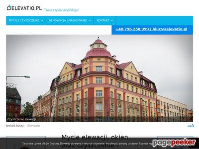 Renowacja elewacji - www.elevatio.pl