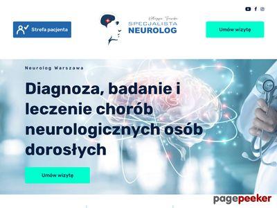 Badanie EMG; Neurolog Warszawa - Tężyczka, Borelioza, Polineuropatia.